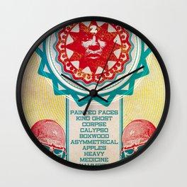 Gig Poster  Wall Clock
