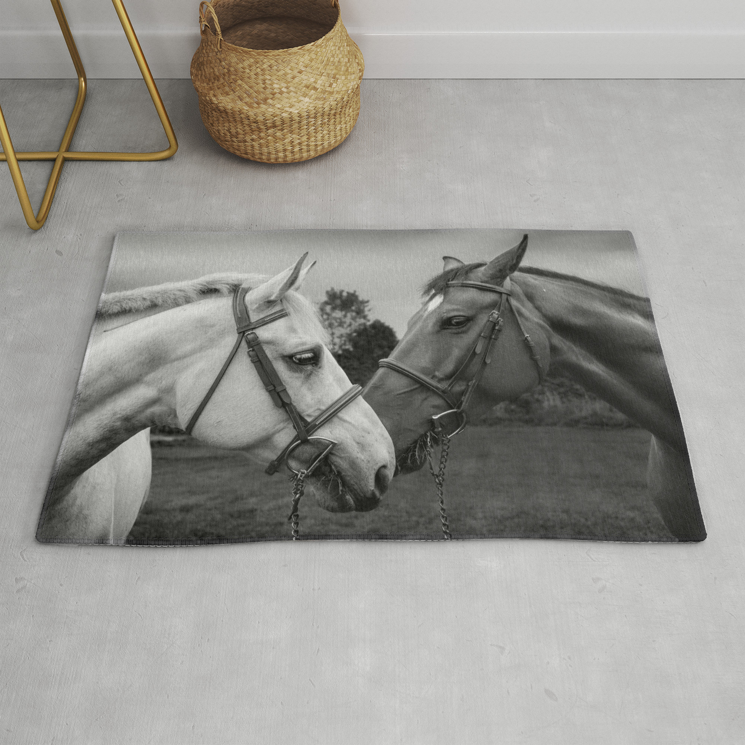 Horses Of Instagram Ii Rug By Snloren