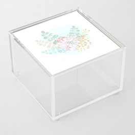 Paint splatter flower Acrylic Box