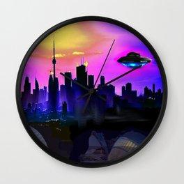 Future City Wall Clock