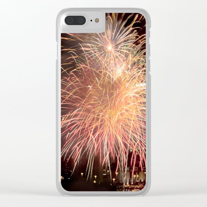 Firework collection 11 Clear iPhone Case