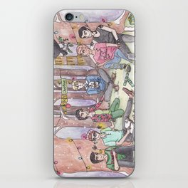 Christmas in Cabeswater iPhone Skin