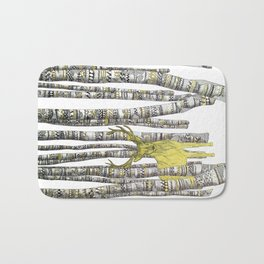 The Golden Stag Bath Mat