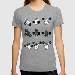 OLYMPIC LIFTING  FRENCH BULLDOG T-shirt