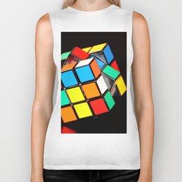 Rubik's cube Biker Tank