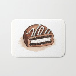 Chocolate Covered Cookie Bath Mat
