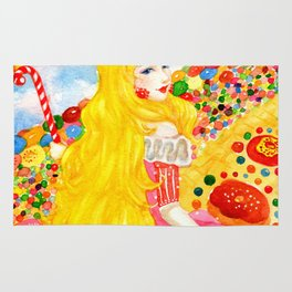 Candy Princess from Fairy Tales Rug