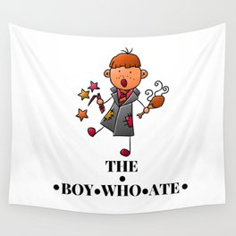 The Boy Who Ate - Ron Weasley Wall Tapestry