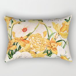 Wordsworth  and the daffodils. Rectangular Pillow