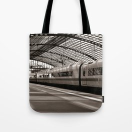 Train-Station of Berlin Tote Bag