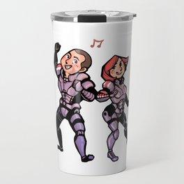 Mass Effect Shepard Shuffle Travel Mug