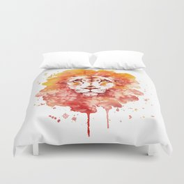 PRIDE (Water colour Lion) Duvet Cover