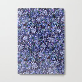 Lilith and Lavender Metal Print