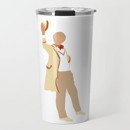 Fifth Doctor: Peter Davison Travel Mug
