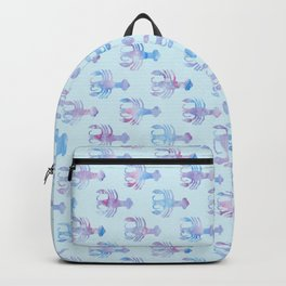 Cancer - Water Sign - Crab Pattern Backpack