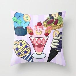 Outer Senshi Sweets Throw Pillow