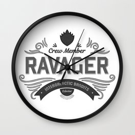 Ravager Wall Clock