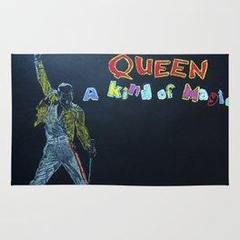Freddie & Mercury A kind of Magic Tribute Rug