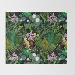 Botanical Bog Throw Blanket