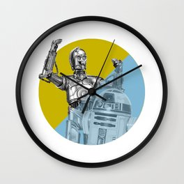 """""""R2D2 you know better than to trust a strange computer!"""" Wall Clock"""