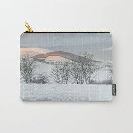 Snow Covered Hills Carry-All Pouch