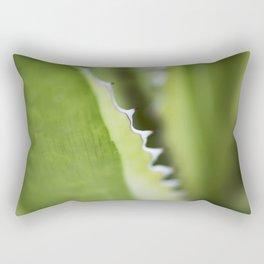 Striped Agave Macro Rectangular Pillow