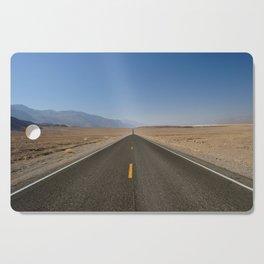 Open Road in Death Valley, California Cutting Board