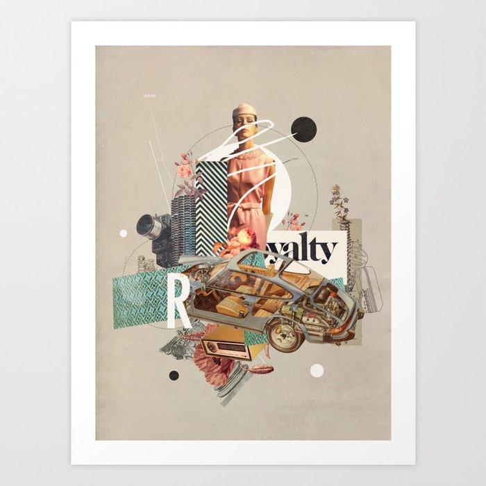 Spirited Royalty Art Print