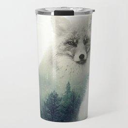 Fox, Forest Animal, Woodlands, Wilderness Travel Mug