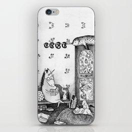Unicorn house iPhone Skin
