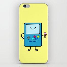Ice cream lover video game iPhone Skin