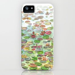 Waterlily II iPhone Case