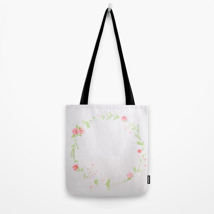 Spring Wreath II Tote Bag