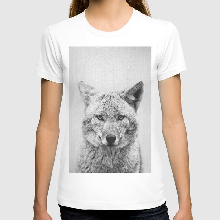 Coyote - Black & White T-shirt