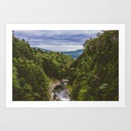 Vermont Mountains Art Print