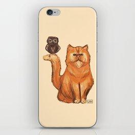 Crookshanks and Pigwidgeon iPhone Skin