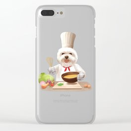 Little Chef Clear iPhone Case