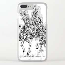 re-search Clear iPhone Case