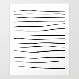 Simple Stripe Art Print