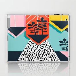 Legit - throwback 80s style memphis neon texture art print pop art dorm college hipster trendy urban Laptop & iPad Skin