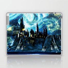 Starry Night Hogwarts Laptop & iPad Skin
