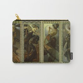"Alphonse Mucha ""The Moon and the Stars Series"" Carry-All Pouch"