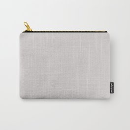 Pearl. Monotone light pinkish grey. Carry-All Pouch