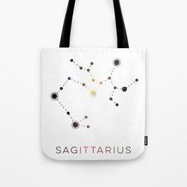 SAGITTARIUS STAR CONSTELLATION ZODIAC SIGN Tote Bag