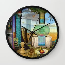 Showers of Blessing Wall Clock