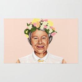 Hipstory - Queen Elizabeth Rug