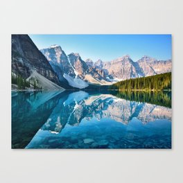 Moraine Lake, Canada #buyart #society6 Canvas Print