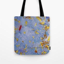 Blue Jungle Tote Bag