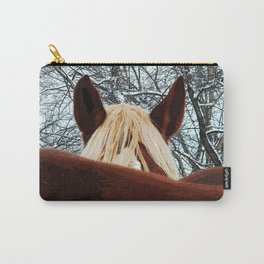Horses - The Shy One Carry-All Pouch