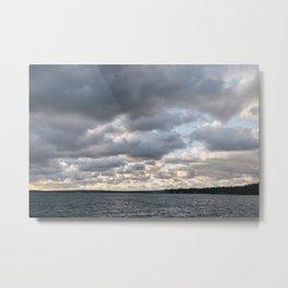 Killbear Provincial Park - Ontario, Canada | landscape print nature water blue sky great lakes photo Metal Print